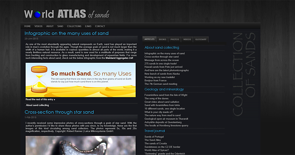 world adtlas of sand